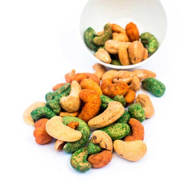 Haz tu propia mezcla de frutos secos tostados