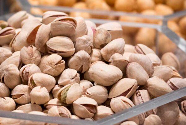 por qué comer pistachos